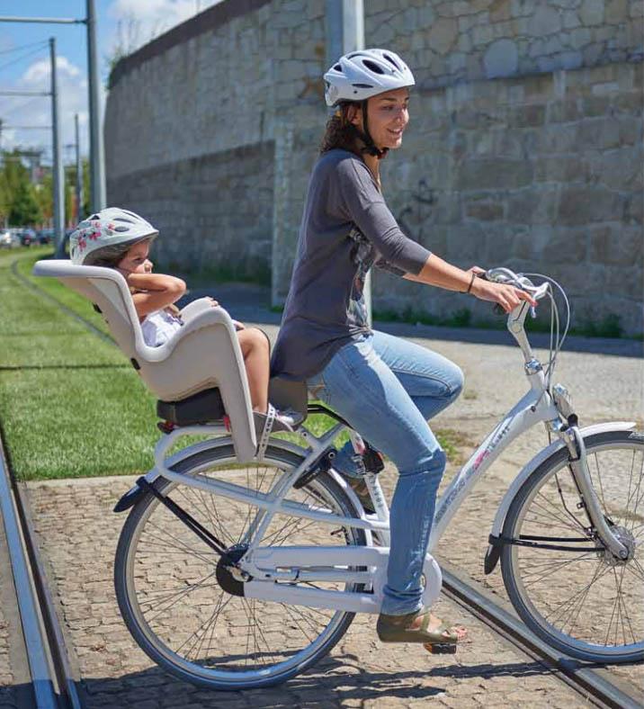 Hátsó biciklis gyerekülés